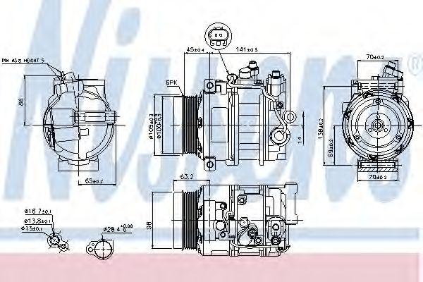 Compresor, climatizare